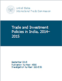 Trade and Investment Policies in India