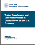 Trade, Investment, and Industrial Policies in India: Effects on the U.S. Economy