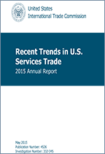 Recent Trends in U.S. Services Trade: 2015 Annual Report